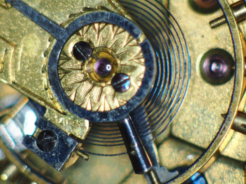 Balance wheel endstone